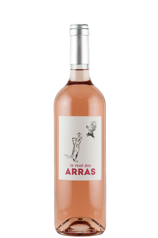 chateau-des-arras-rose-french-wine-cat-label