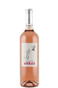 chateau-des-arras-vin-de-france-rose-bottle-cat-label