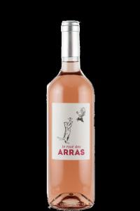 chateau-des-arras-vin-de-france-rose-bottle-cat-label